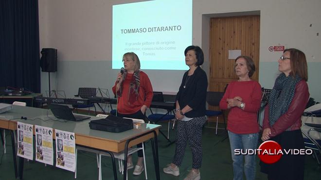 Tomàs Ditaranto presentato agli alunni dell' I.C. Palazzo – Salinari di Montescaglioso