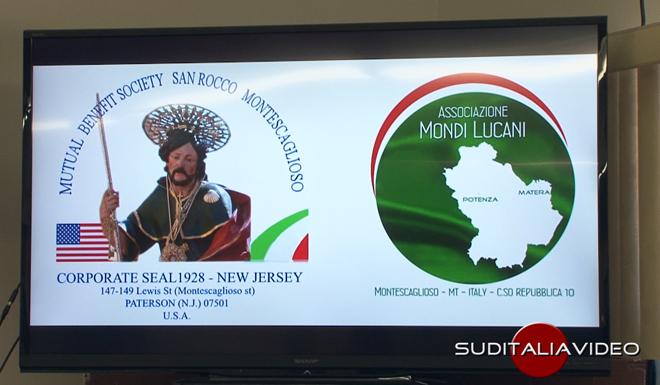 Si consolida il legame tra l'associazione San Rocco di Paterson e l'associazione Mondi Lucani di Montescaglioso