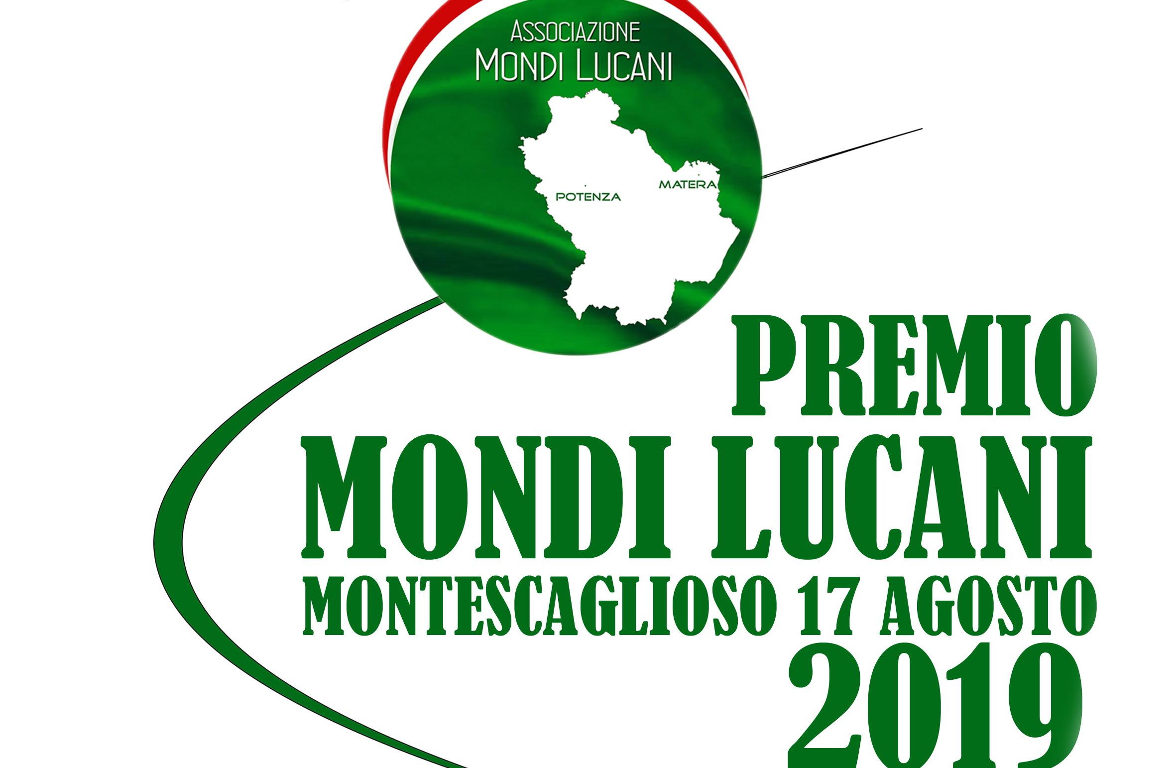"""Prima edizione """"Premio Mondi Lucani"""" Montescaglioso 17 agosto 2019"""