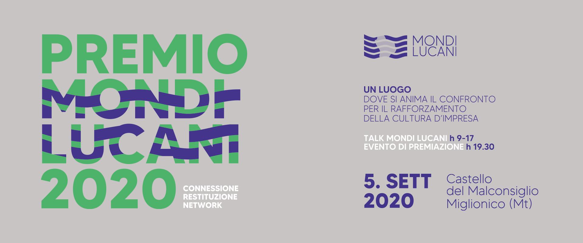 banner premio mondi lucani 2020