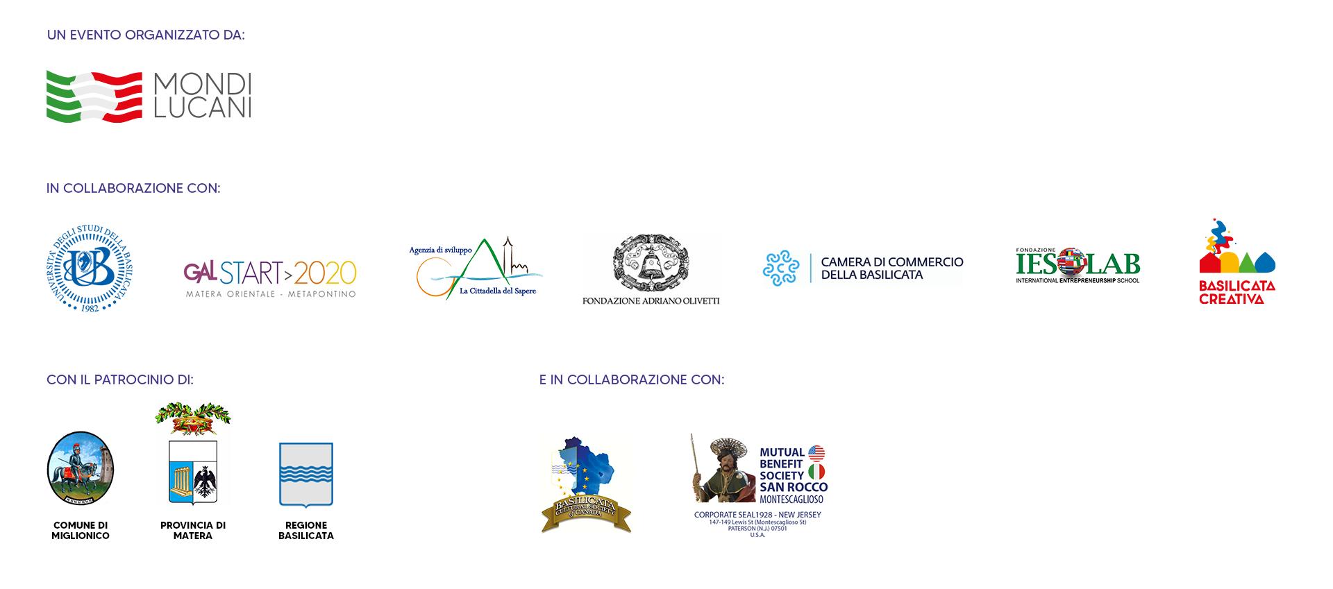 loghi premio mondi lucani 2020