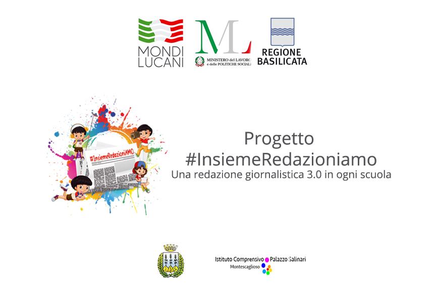 """Concluso il Progetto della Mondi Lucani """"#InsiemeRedazioniamo – una redazione giornalistica 3.0 in ogni scuola"""""""